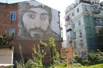 Киевляне требуют вернуть сквер Небесной сотни людям