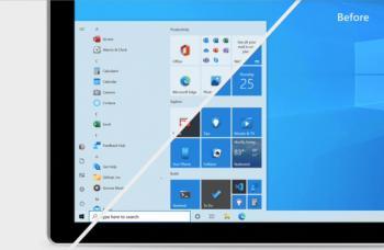 Меню Пуск Windows 10 отримує візуальне оновлення