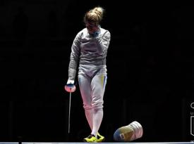 Украинская фехтовальщица Харлан уступила в первой схватке и покинула Олимпиаду