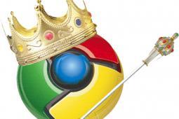Браузер Chrome стал популярнее Firefox